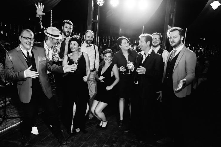 ballroom groepsfoto